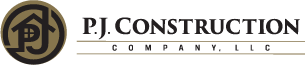 P.J. Construction Logo